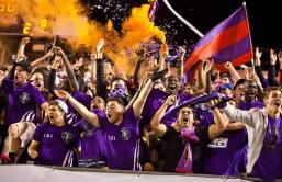 Hinchas del Orlando City Soccer Club (USL). Fuente: www.orlandocitysc.com