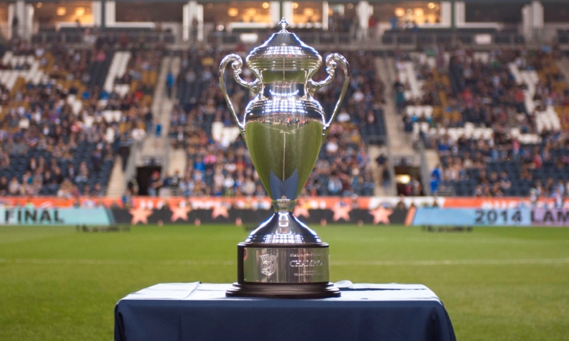 Lamar Hunt US Open Cup Trophy, PPL Park