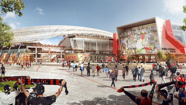 LAFC Plaza