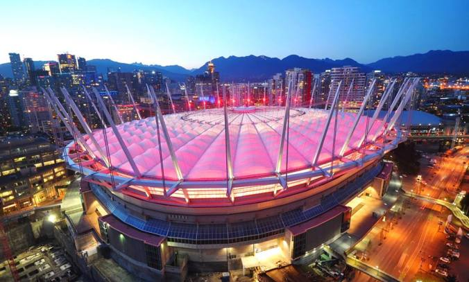 BC Place exterior