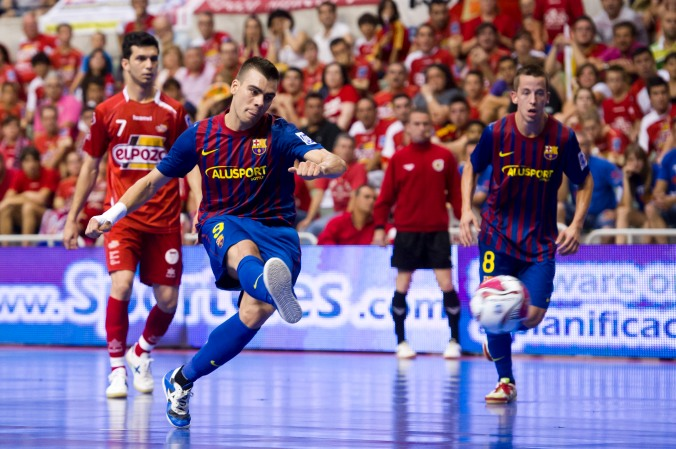 LNFS. FINAL. PARTIDO 5 DE 5. ELPOZO MURCIA FS 11/12 FC BARCELONA ALUSPORT 11/12