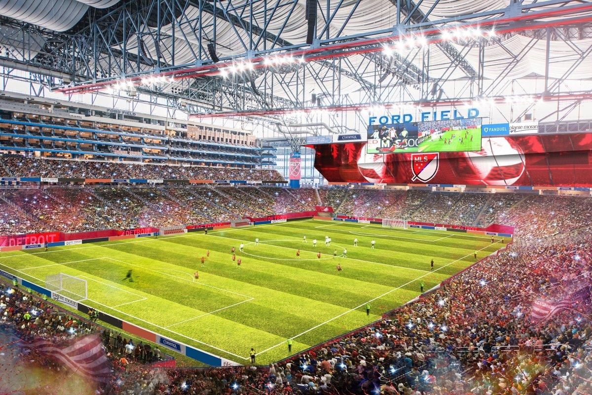 Expansión: La candidatura de Detroit se asocia a la familia Ford y su estadio