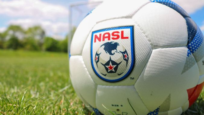 NASL Ball In Field